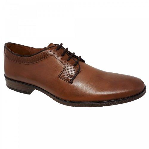 Zapato de vestir café para hombre Christian Gallery 2100
