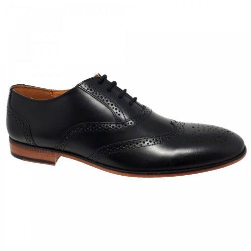 Zapato de vestir negro para hombre Christian Gallery 262-M