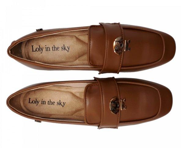 Zapato para mujer café Camelia Loly in the Sky