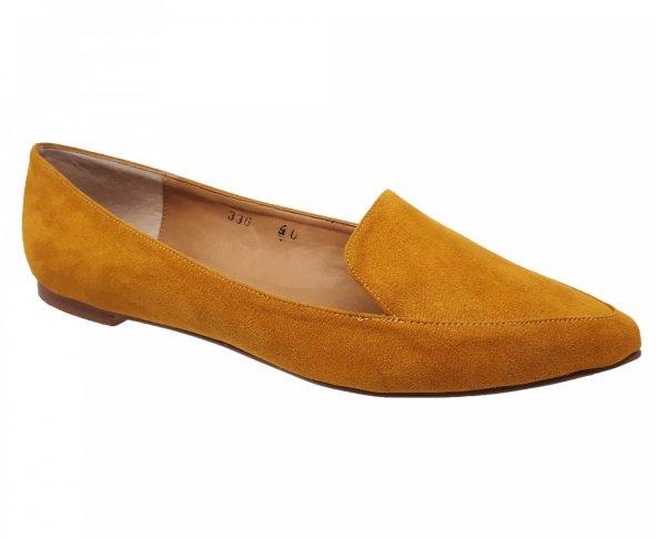 Balerina amarilla cerrada Coyote y Oliva C336