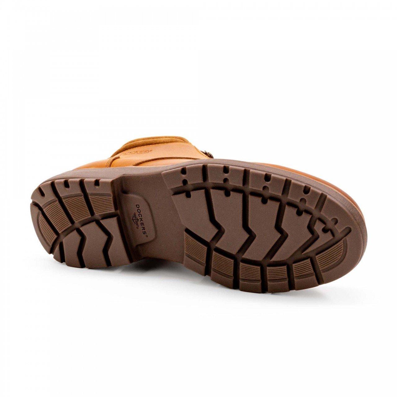 Bota marrón tan para hombre en piel Dockers 211711