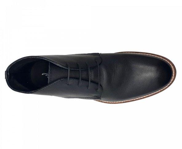 Botín negro para hombre en piel Fabián Arenas 3301