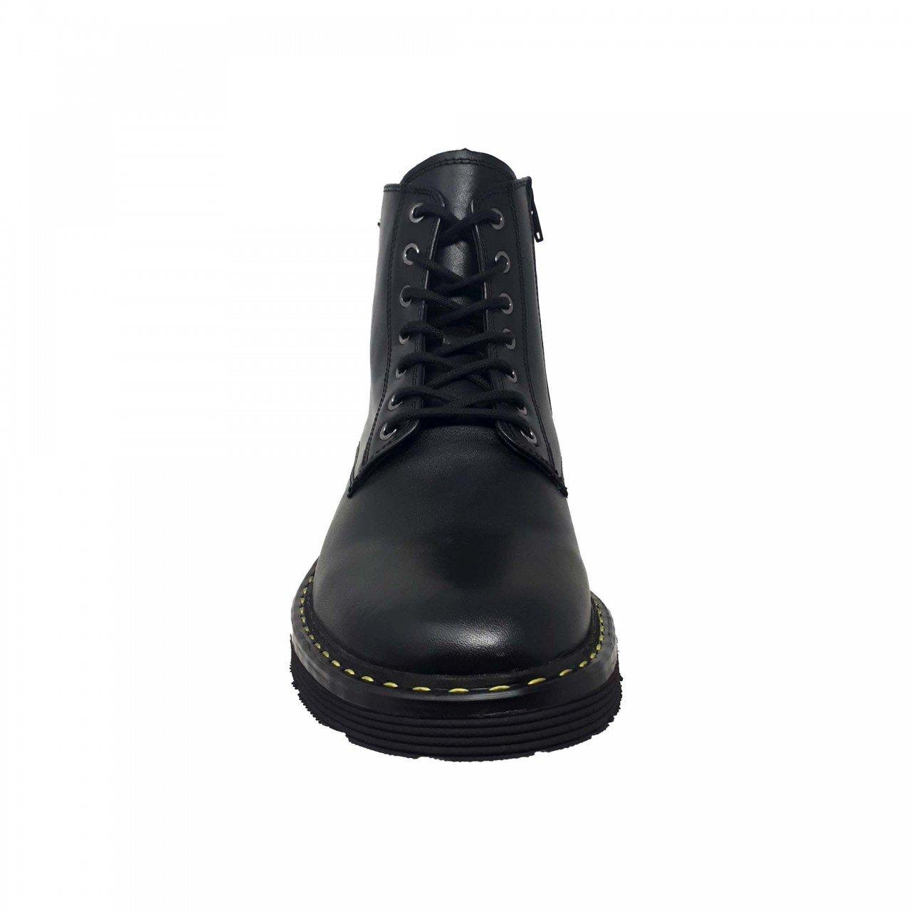 Botín negro en piel para hombre Fabián Arenas 5504