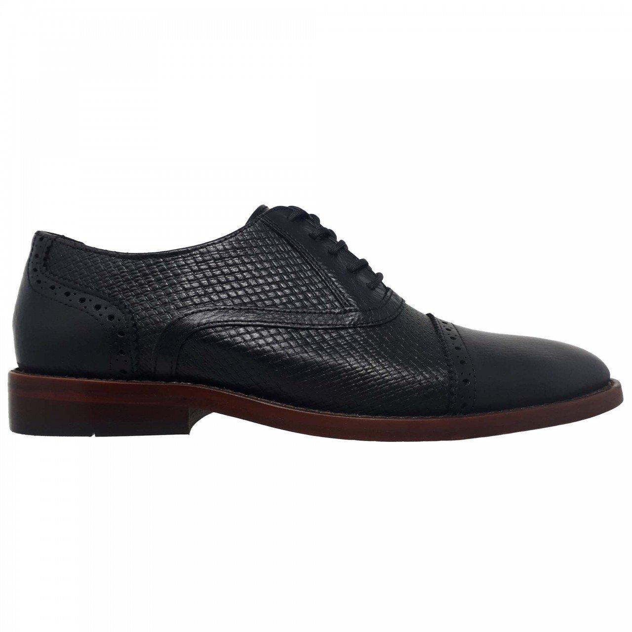 Zapato negro en piel para hombre Fabián Arenas 6961