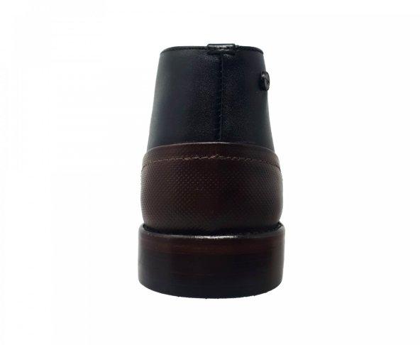 Botín negro en piel para hombre Fabián Arenas 8412