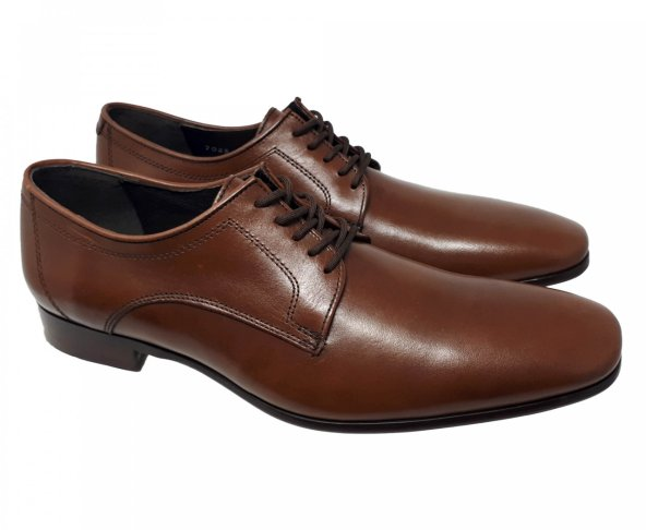 Zapato de vestir café para hombre Gino Cherruti 1400