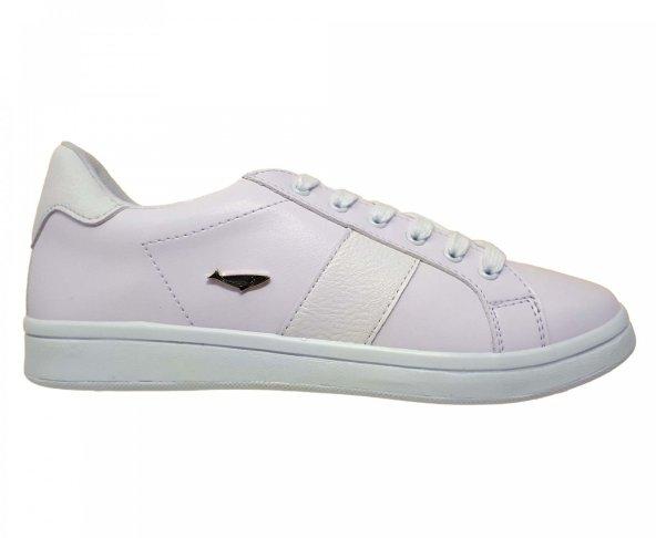 Tenis blanco para mujer Hemisferios H41101
