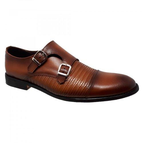 Zapato de vestir café miel  para hombre  H930