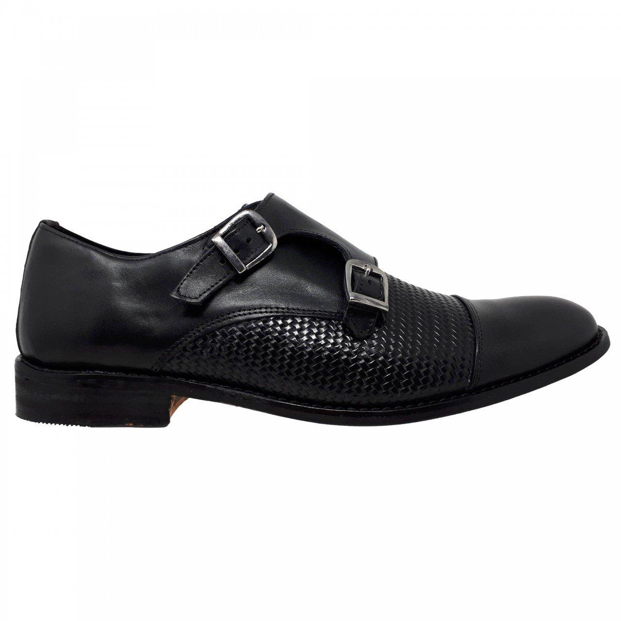 Zapato de vestir negro para hombre  H930