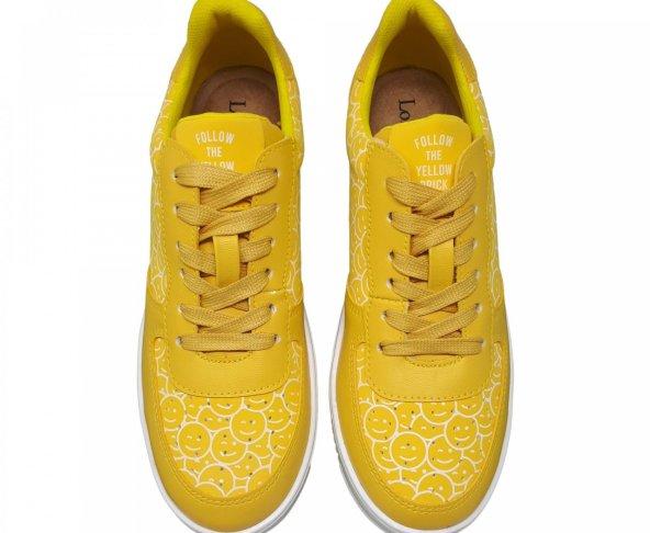 Tenis de plataforma amarillo para mujer Izzie Loly in the sky