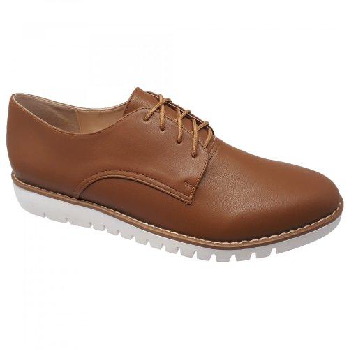 Zapato café para mujer Coyote y Olivia J4004