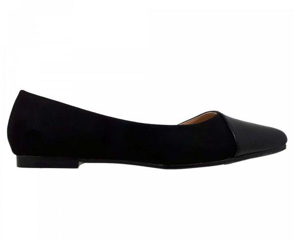 Balerina negra para mujer 14908