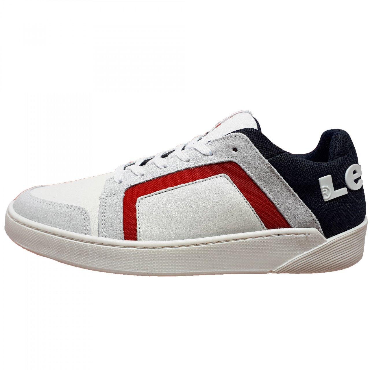 Tenis blanco de hombre Levis 210471