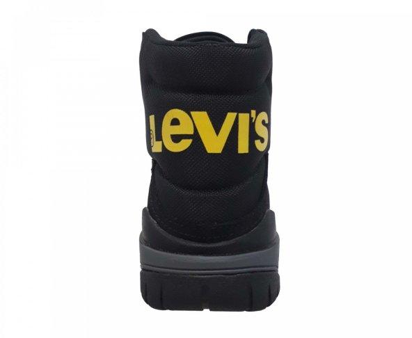 Botín negro para hombre Levis 229052