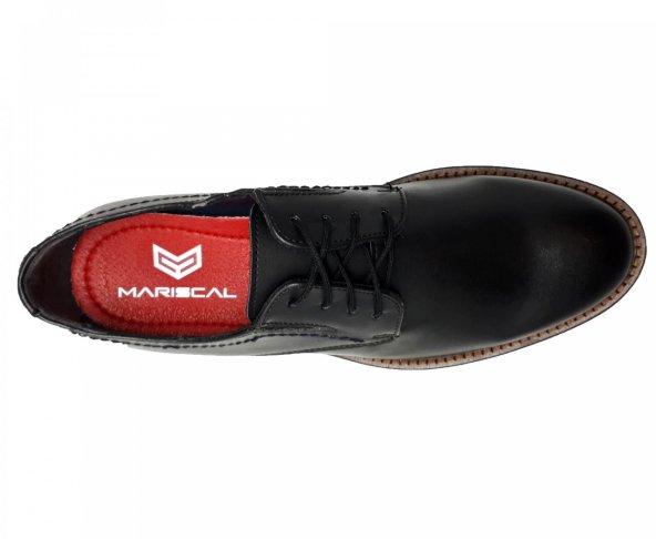 Zapato choclo negro  para hombre M4036