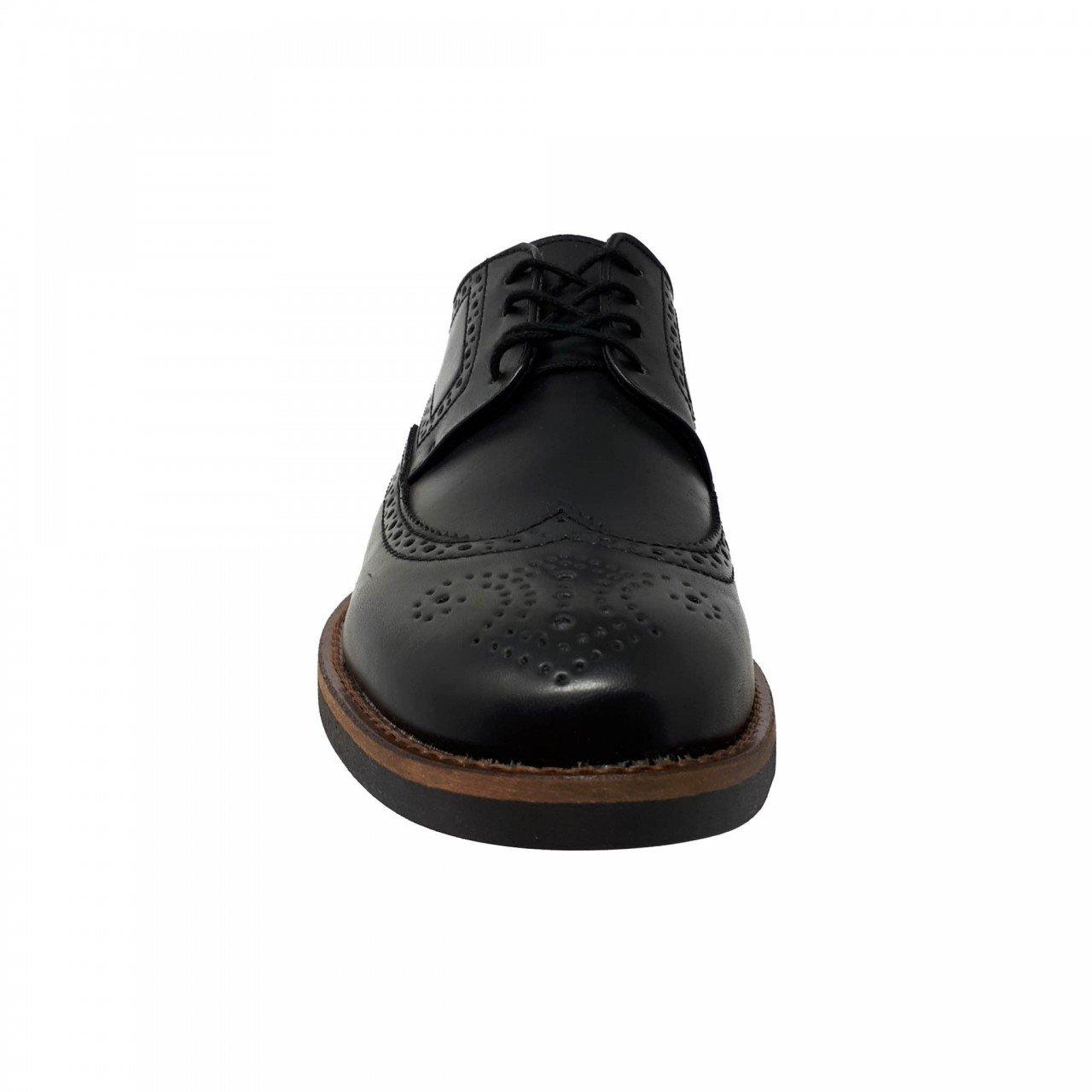 Zapato choclo negro para hombre M4038