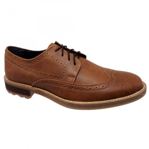 Zapato choclo café miel para hombre M4038