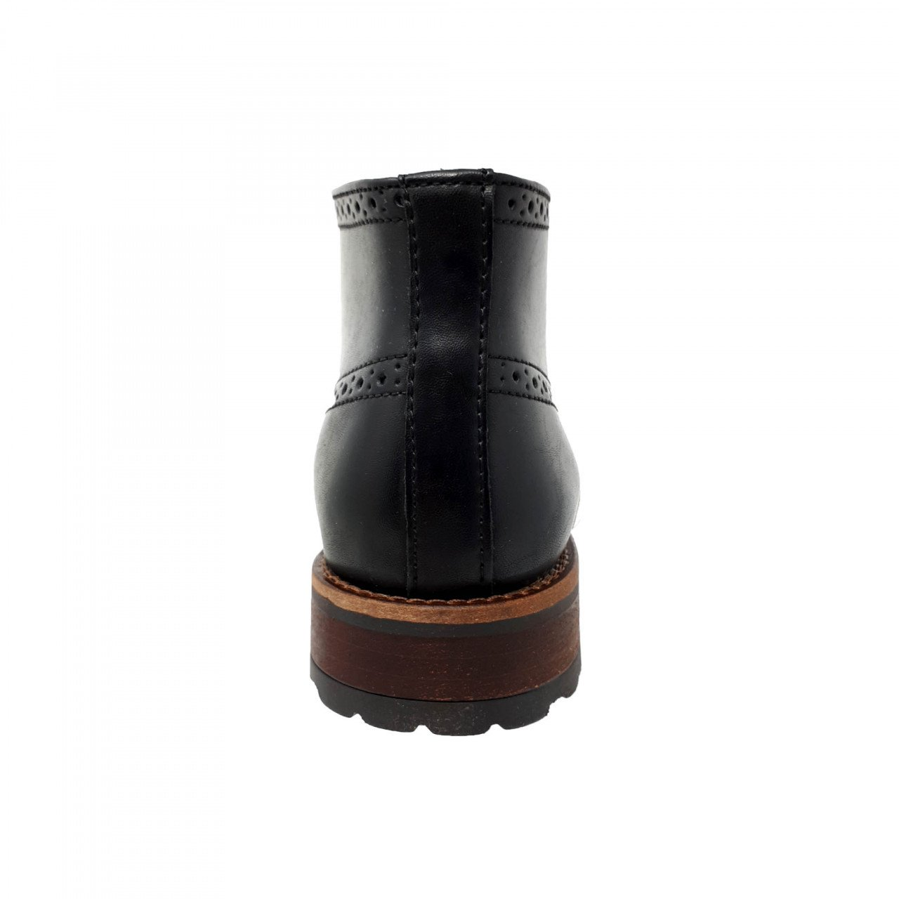 Botin negro para hombre M4039