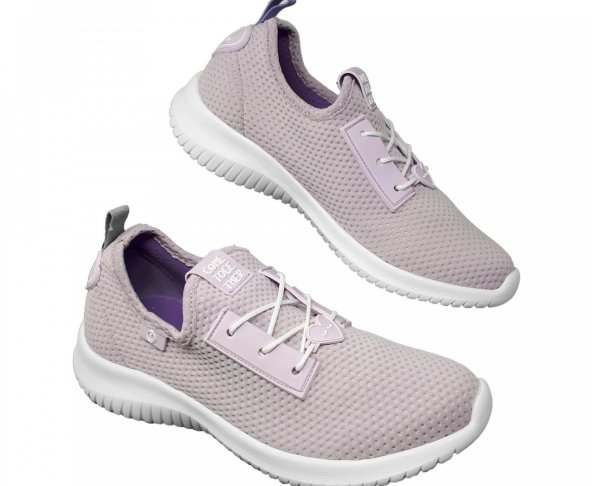 Tenis lila para mujer Monica Loly in the sky