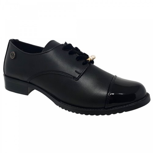 Zapato negro para mujer Nora Loly in the sky