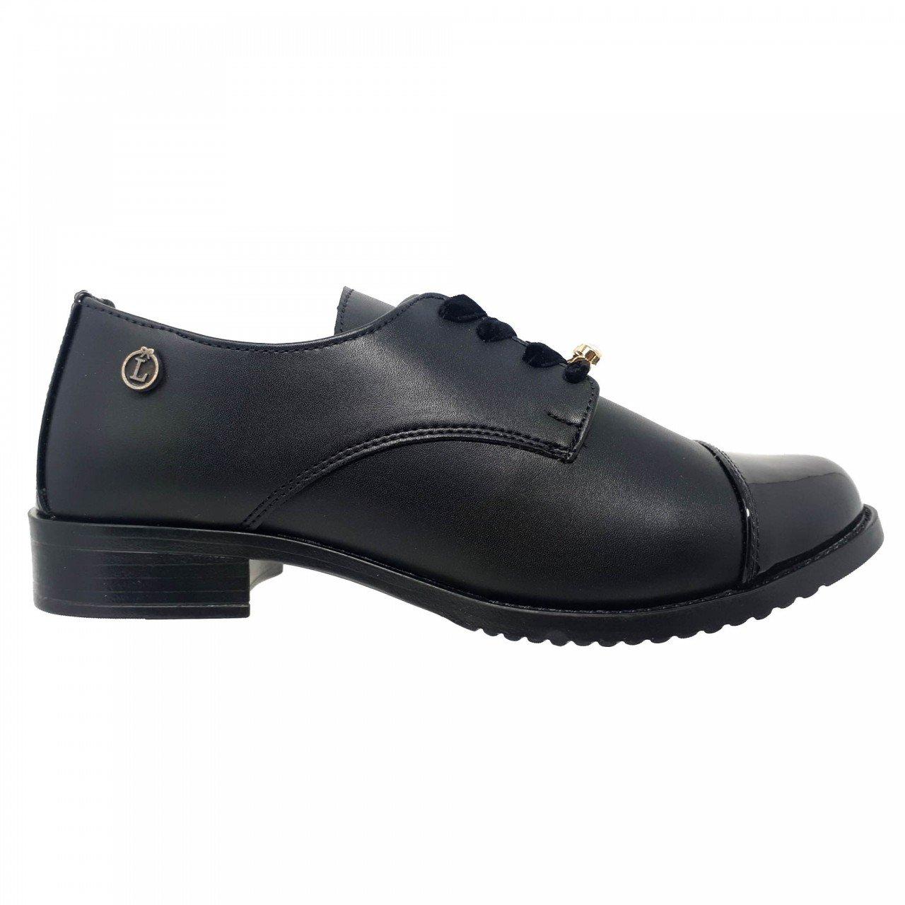 Zapato negro para mujer Nora Loly in the sky