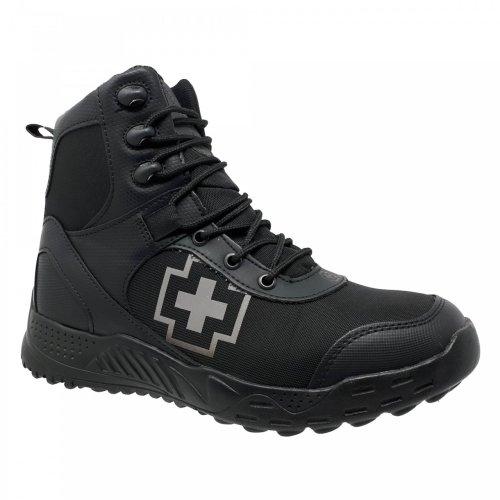 Botín negro para hombre Swiss Brand 491