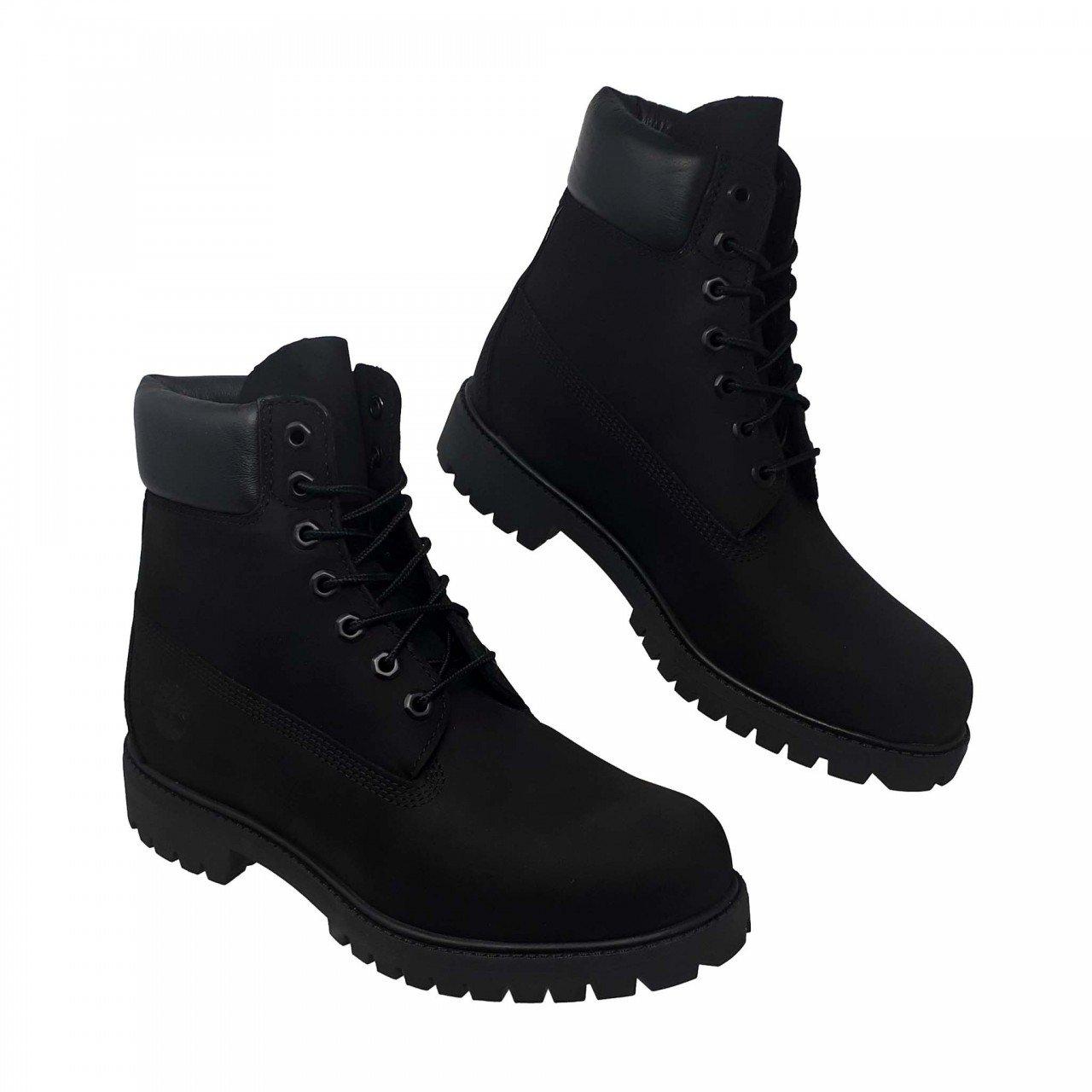 Botin clásico negro waterproof para hombre Timberland 10073