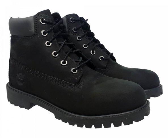Botas negras waterproof clásicas para mujer Timberland 12907