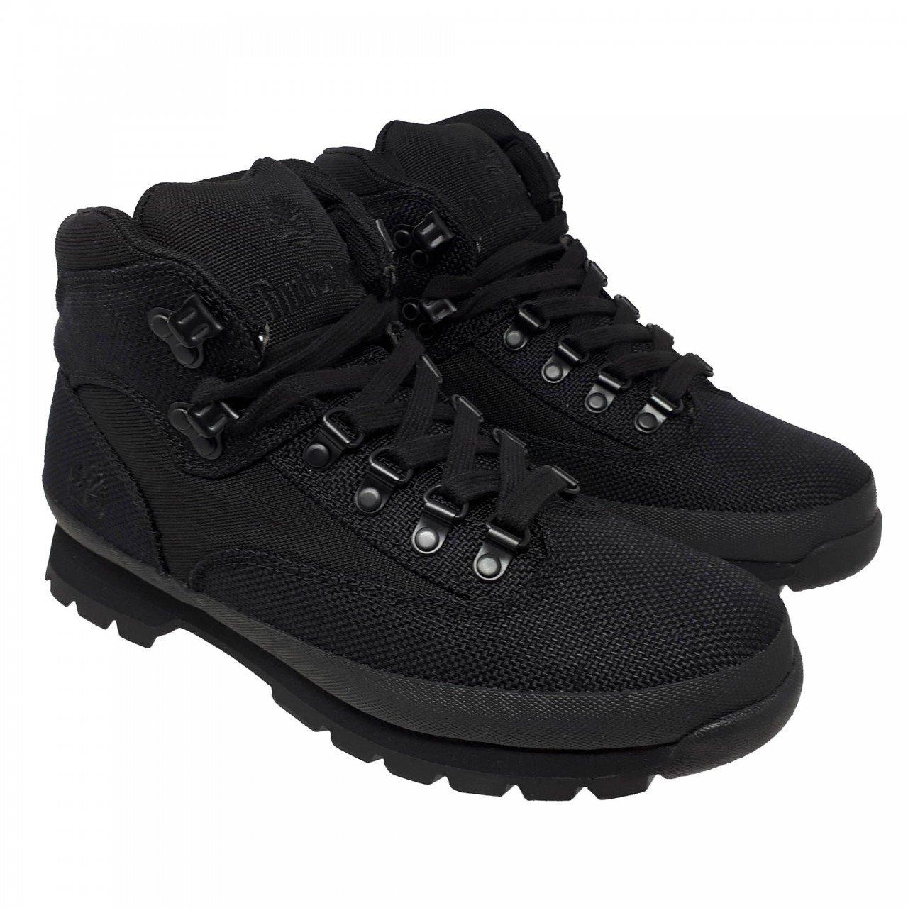 Botas Timberland Negras Euro hiker fabric black A15RX para hombre