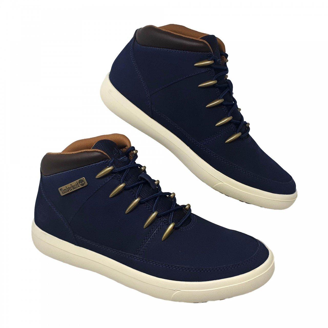 Tenis- botín-azul marino para hombre Timberland A245B