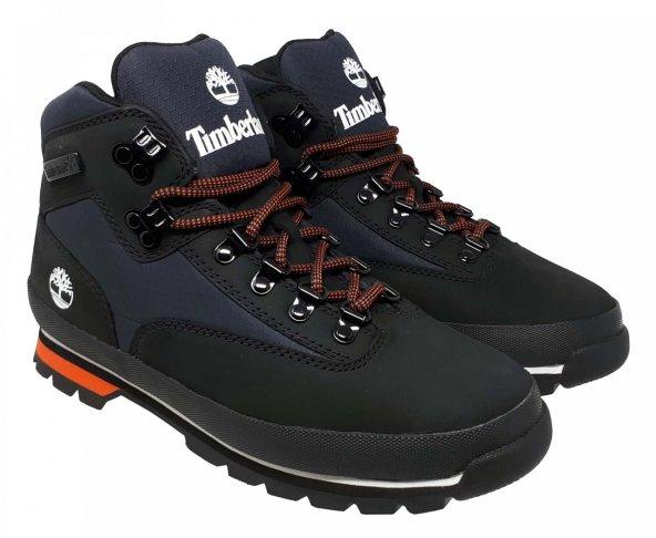 Botas Timberland Negras Black Euro Hiker Fl Leather A2GCX para Hombre