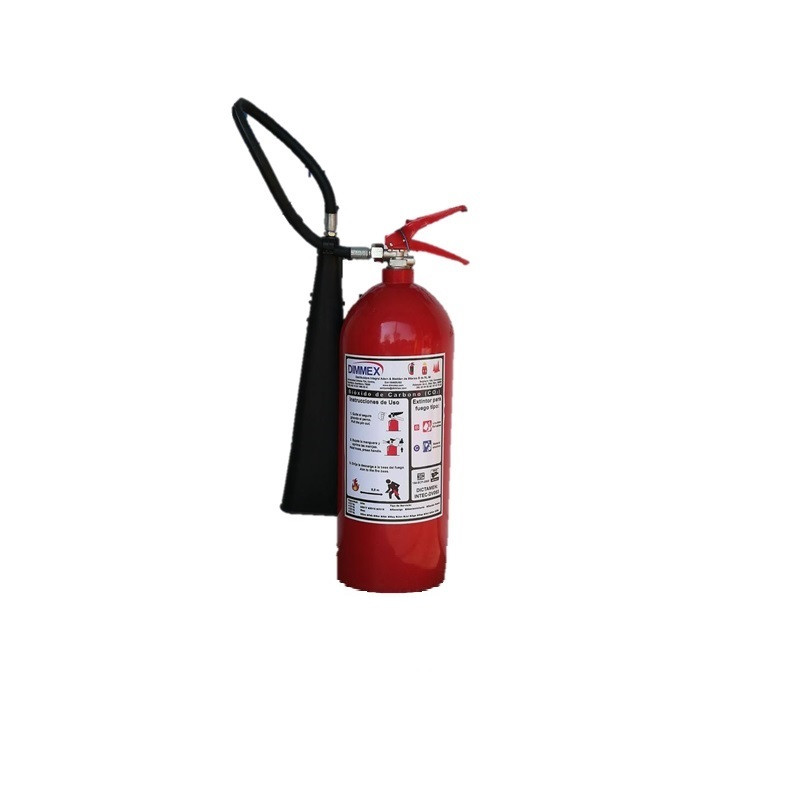 Extintor CO2 tipo BC 10Lb (4.5Kg)