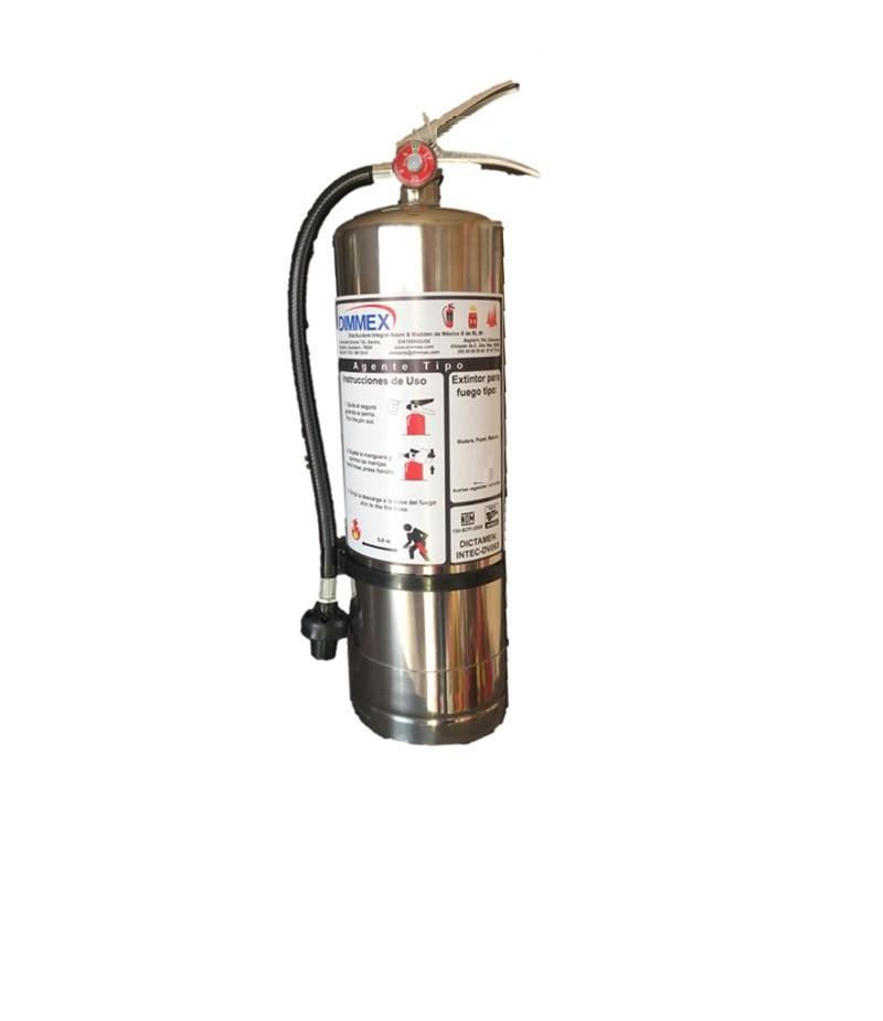 Extintor Agente Tipo D 9L (para metales)