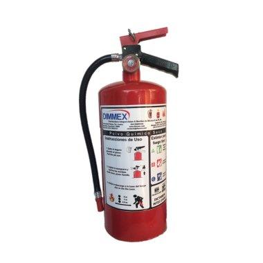 Extintor PQS certificado tipo ABC 4.5Kg