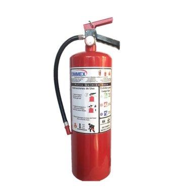 Extintor PQS certificado tipo ABC 6Kg