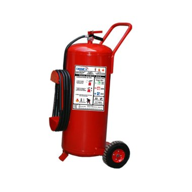 Unidad Móvil Polvo Químico Seco Tipo ABC 35Kg