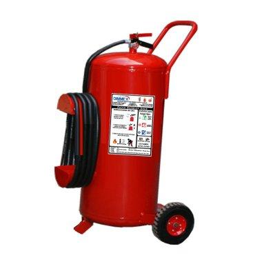Unidad Móvil Polvo Químico Seco Tipo ABC 68Kg