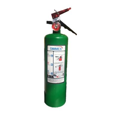 Extintor Agente Limpio tipo ABC 2.5Kg Ecológico