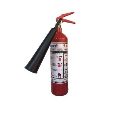 Extintor CO2 Tipo BC 5Lb (2.3Kg) IMPORTADO CHINO