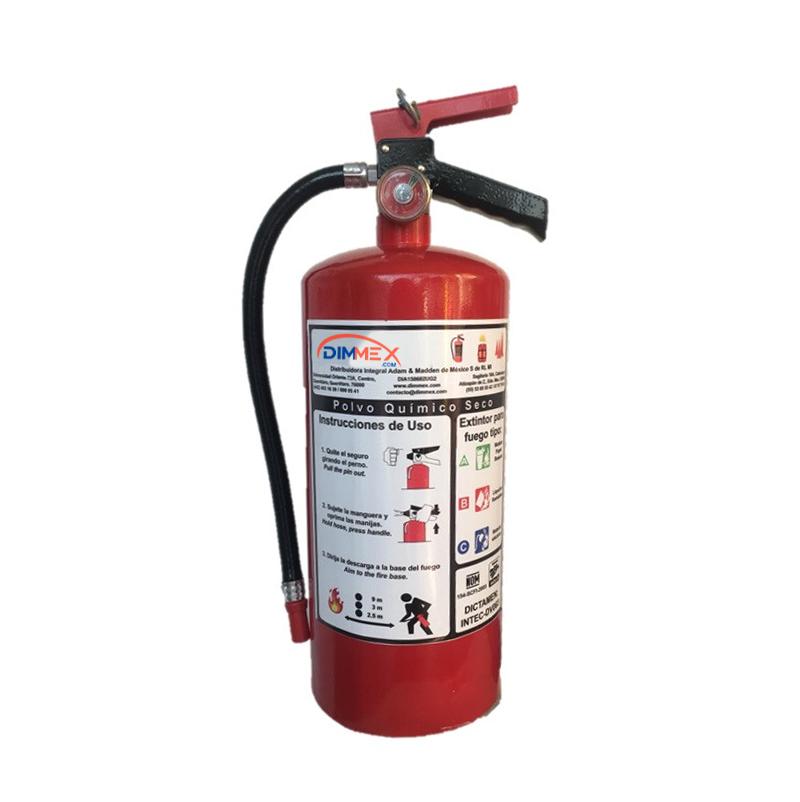 Recarga Verificada Extintor PQS 4.5Kg NOM-154-SCFI-2005