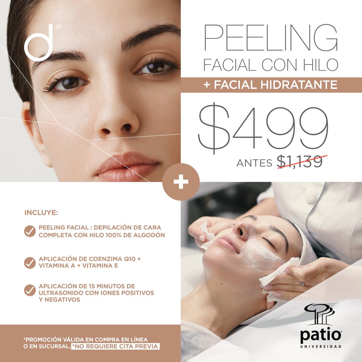 Peeling Facial con Hilo + Facial Hidratante - SÓLO PATIO UNIVERSIDAD&w=900&h=900&fit=crop