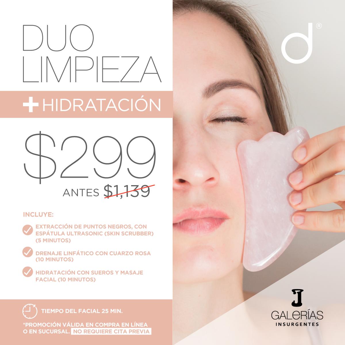 Facial Duo Limpieza + Hidratación- SÓLO GALERÍAS INSURGENTES&w=900&h=900&fit=crop