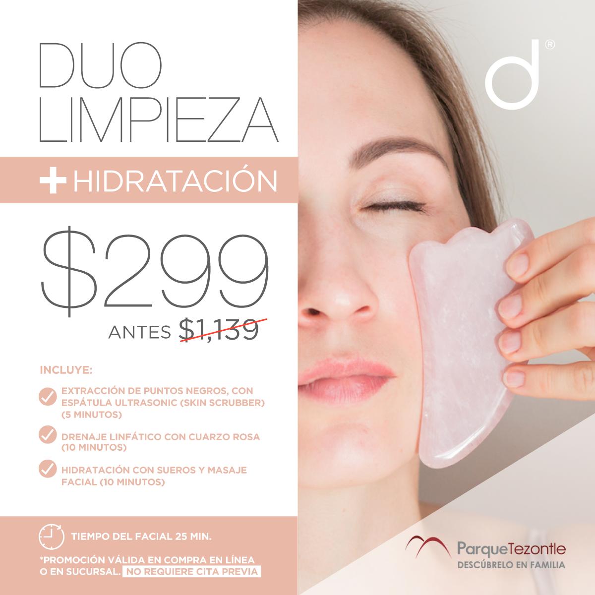 Facial Duo Limpieza + Hidratación- SÓLO PARQUE TEZONTLE&w=900&h=900&fit=crop