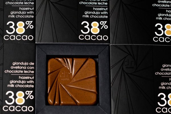 TABLETA GIANDUJA DE AVELLANAS CON CHOCOLATE 38%