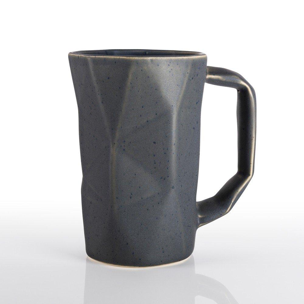 Taza Prisma color gris piedra