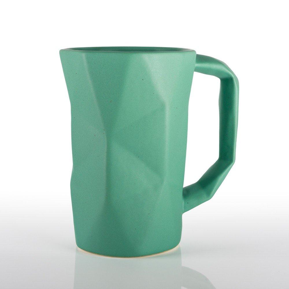 Taza Prisma color verde menta
