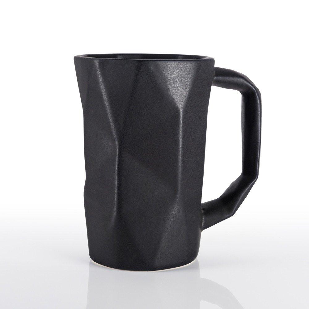 Taza Prisma color negro