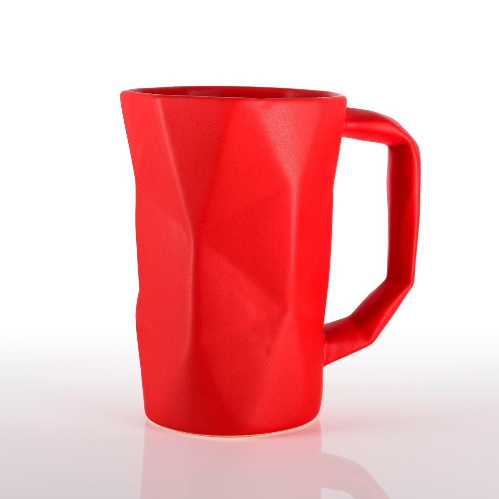 Taza Prisma color rojo