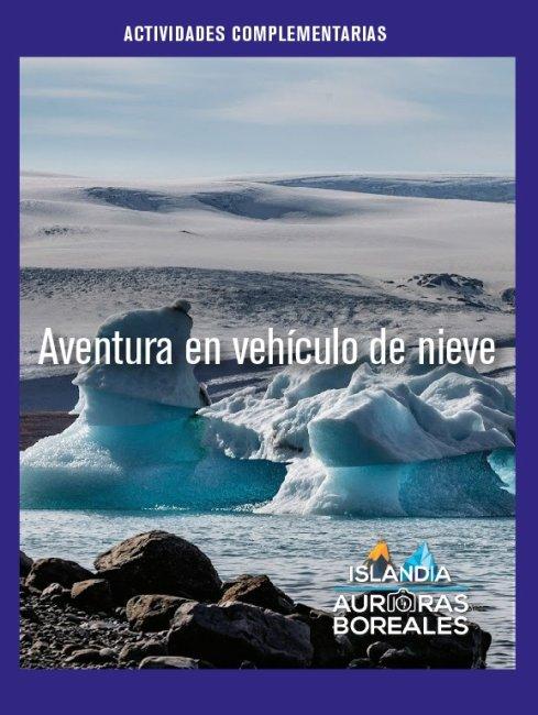 Aventura en vehículo de nieve