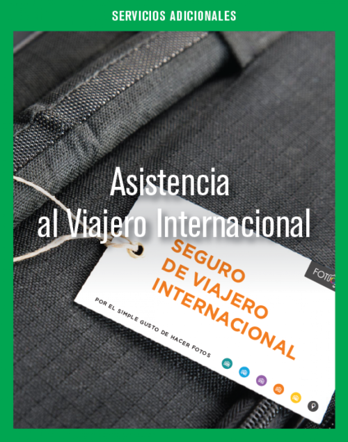 Asistencia al Viajero Internacional.